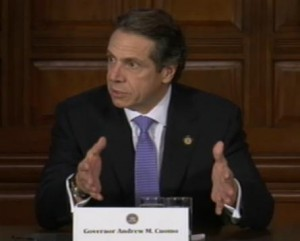 New York Governor Andrew CuomoImage/Video Screen Shot