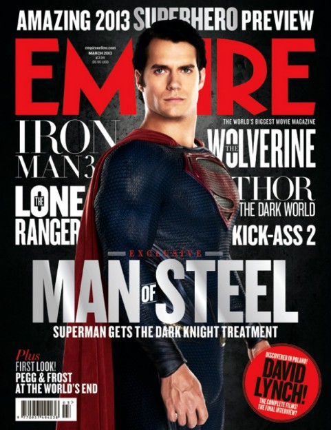 henry-cavill-superman-man-of-steel Empire magazine cover