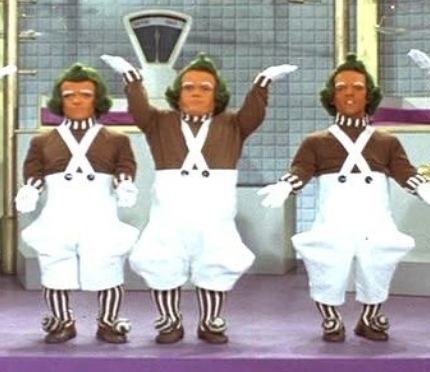 oompa-loompa photo Willy Wonka