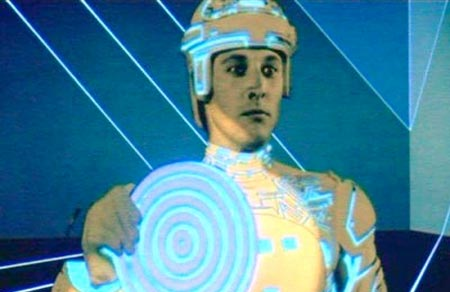 "Bruce Boxleitner in the 1982 ""Tron"" film"