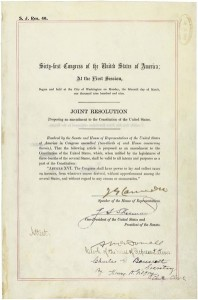 16th Amendment of the United States Constitution. Image/National Archives of the United States