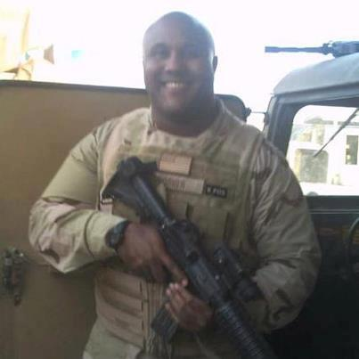 Christopher Dorner military photo