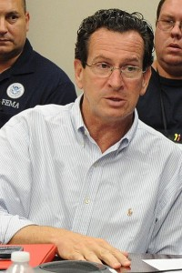 Dannel Malloy signed the new gun controls into law. Jocelyn Augustino/FEMA News Photo