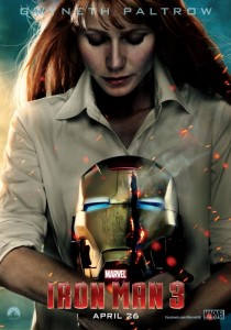Gwyneth Paltrow Pepper Potts Iron Man 3 poster