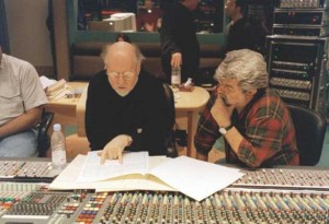 John Williams George Lucas Star Wars photo