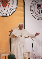 Pope Benedict XVI Public domain image/CFM865 at the wikipedia project