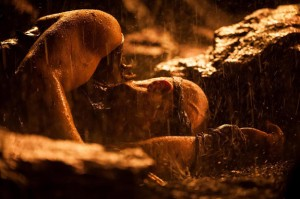 Riddick face down rain Vin diesel photo