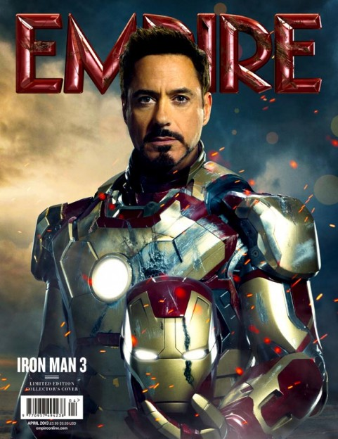 Tony Stark Robert Downey Jr Iron Man 3 poster