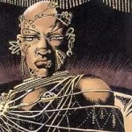 Xerxes close up Frank Miller 300 graphic novel