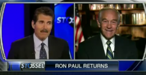 John Stossel and Ron Paul Image/Video Screen Shot