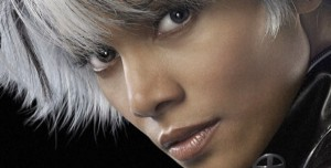 x-men-storm Halle Berry close up banner