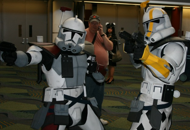 Clonetroopers Star Wars Cosplay MegaCon 2013