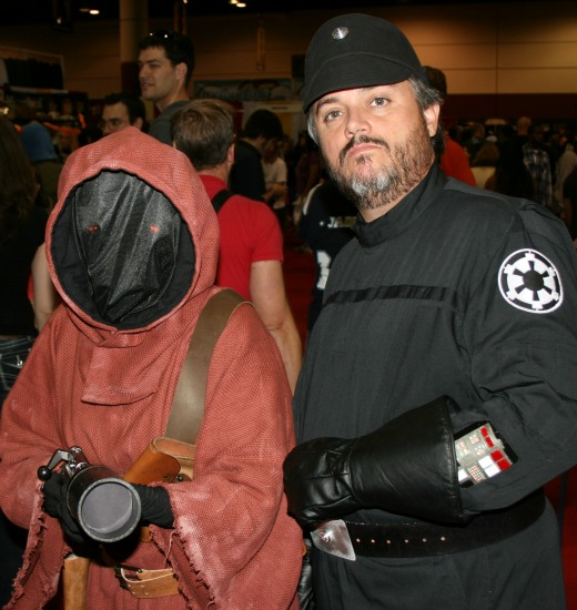 Jawa Imperial Soldier Star Wars Cosplay MegaCon 2013