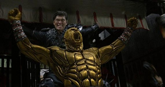 """Dave Bautista in """"The Man With the Iron Fists"""""""