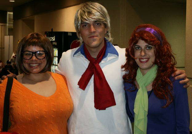 Scooby Doo gang cosplay  MegaCon 2013