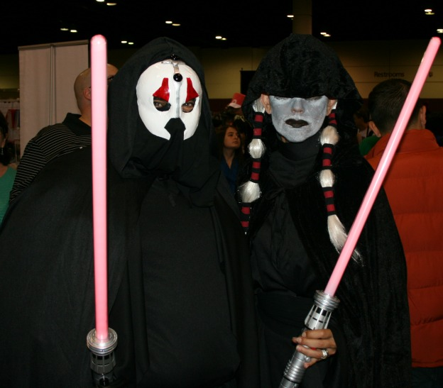 Sith Lords Star Wars Cosplay MegaCon 2013