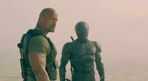 "Dwayne Johnson as Roadblock in ""GI Joe: Retaliation"""