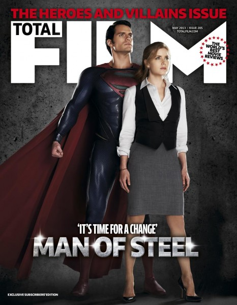 man-of-steel-total-film-cover photo