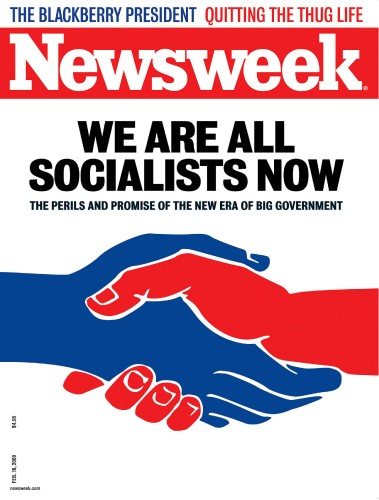 This Newsweek cover caused a stir over socialism, but the new rhetoric may be even scarier