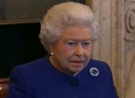 Queen Elizabeth II Image/CNN Video Screen Shot