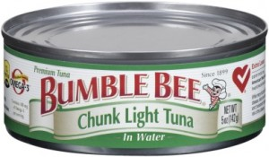 Bumble Bee Chunk Light Tuna Image/FDA