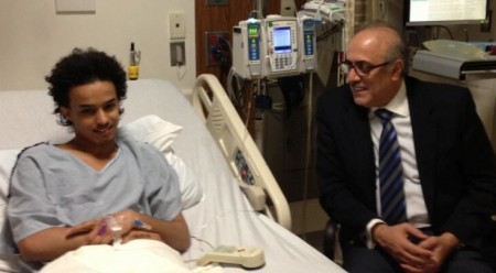 "Azzam bin Abdel Karim visiting the ""person of interest"" in the hospital just prior to his deportation decision"