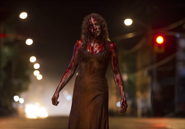Chloe Moretz Carrie bloody photo