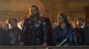 Chris Hemsworth Natalie Portman Thor The Dark World photo