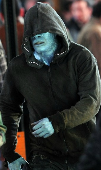 Jamie Foxx Electro hoodie photo Amazing Spidey 2