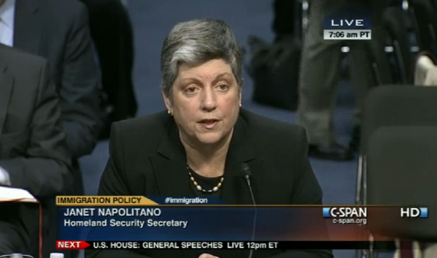 Janet Napolitano person of interest watchlist