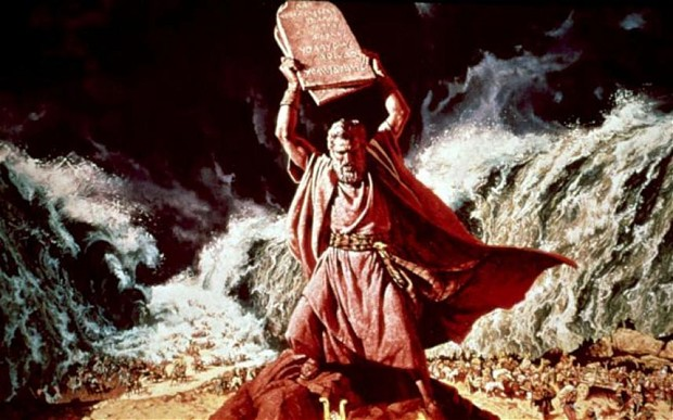 Moses and his influence on government was a disputed topic to approve new textbooks