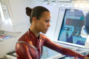 Zoe Saldana as Uhura Star Trek Into Darkness