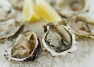 Vibrio lives naturally in sea water and foodborne vibrio infection is most often linked to eating raw oysters. It is rare, but can cause serious, life-threatening infection, especially in people with liver disease.  Image/CDC