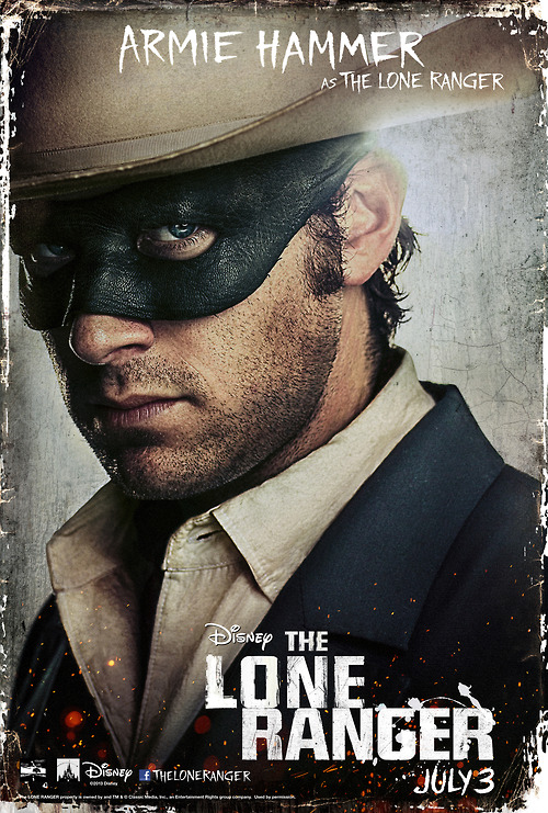 the-lone-ranger-armie-hammer poster