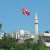Israel Nazi flag flies near Palestine mosque