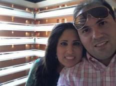 Naghmeh Abedini and Pastor Saeed Abedini, who is jailed in Iran