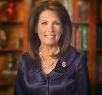 Minnesota Rep. Michelle Bachmann Image/Video Screen Shot
