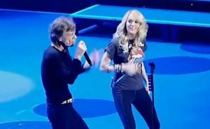 Mick Jagger and Carrie Underwood Image/Video Screen Shot