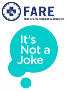 It's not a joke campaign logo Image/FARE
