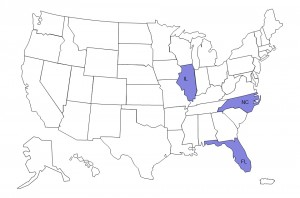 CDC has received reports from three states – Illinois, North Carolina, and Florida. Image/CDC