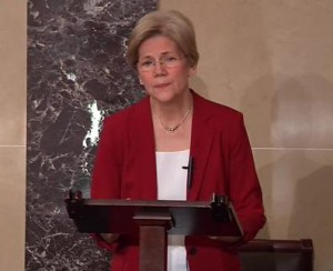 Senator Elizabeth Warren Image/Video Screen Shot
