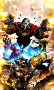 Guardians of the Galaxy 2008 comic book cover