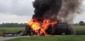 Indiana burning van teen saves sisters