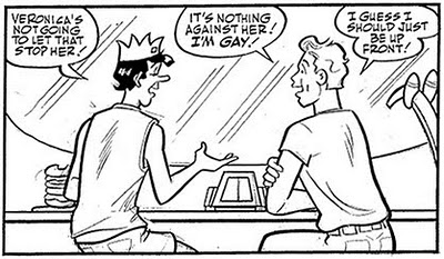 Veronica_202_Panel Kevin Keller openly gay character