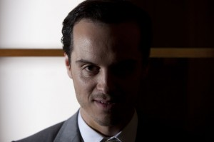 Andrew Scott as Moriarty BBC Sherlock photo