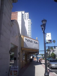 Capitol Theater on Cleveland Street in Clearwater, Florida will be getting the facelift it needs, thanks to a generous donation photo Mikereichold via wikimedia commons