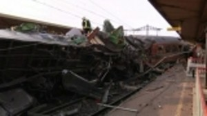 At least six dead as French train derails