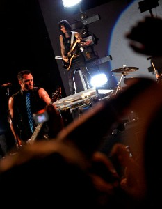 Skillet performs live at the Cornerstone Music Fest in Bushnell, IL, on July 1, 2010. photo Dcol64