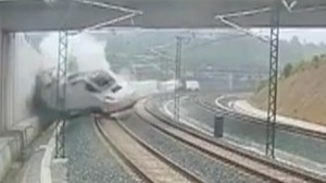 Spain train derailing