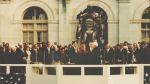 X-Men Sentinel_Ronald Reagan inauguration photo